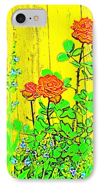 IPhone Case featuring the photograph Rose 9 by Pamela Cooper