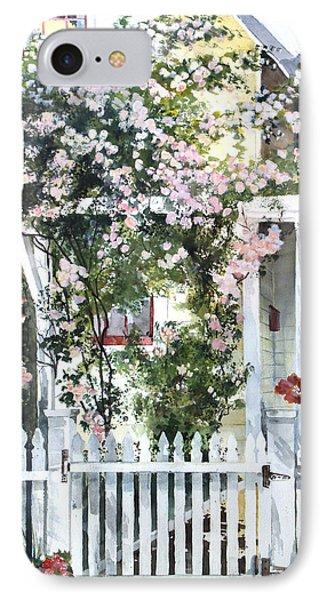 Rose Arbor IPhone Case by Susan Crossman Buscho