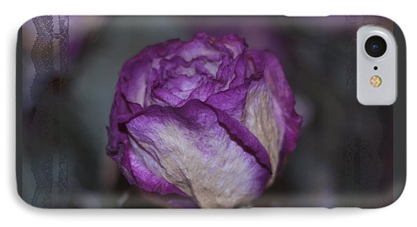 IPhone Case featuring the photograph Rose Beauty After by Sandra Foster