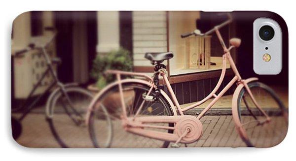 Rose Bike IPhone Case