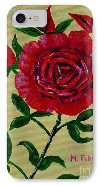 Rose Buds IPhone Case by Melvin Turner