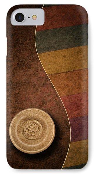 Rose Button IPhone Case by Tom Mc Nemar