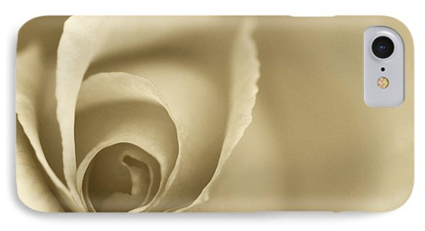 Rose Close Up - Gold Phone Case by Natalie Kinnear