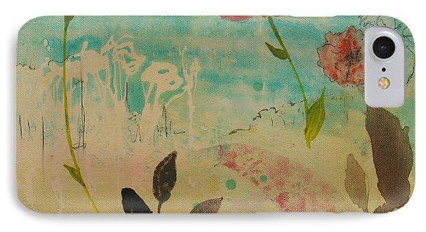 Rose Colored Path Phone Case by Robin Maria Pedrero
