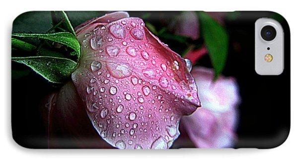 Rose Drops IPhone Case by Suzy Piatt