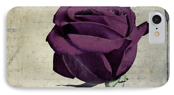 Rose En Variation - S09bt10 IPhone Case by Variance Collections