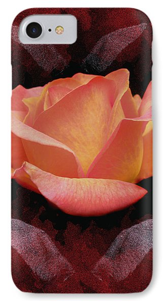 Rose From Angels Digital Art Phone Case by Costinel Floricel