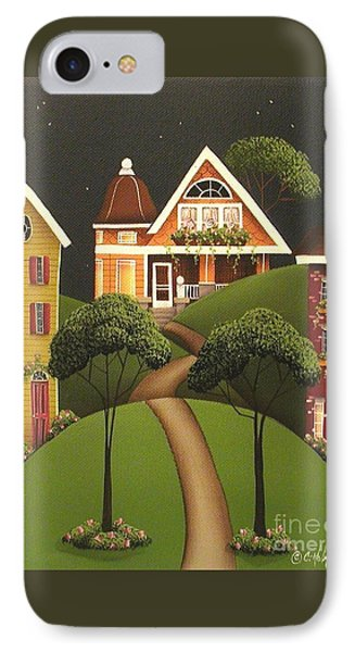 Rose Hill Lane Phone Case by Catherine Holman