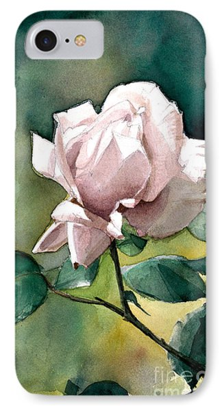IPhone Case featuring the painting Lilac Rose  by Greta Corens