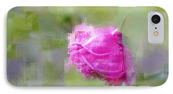 IPhone Case featuring the photograph Rose In Pink by Linde Townsend