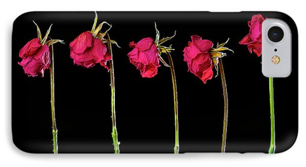 Rose Lineup Phone Case by Mauro Celotti