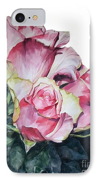 Pink Rose Michelangelo IPhone Case by Greta Corens