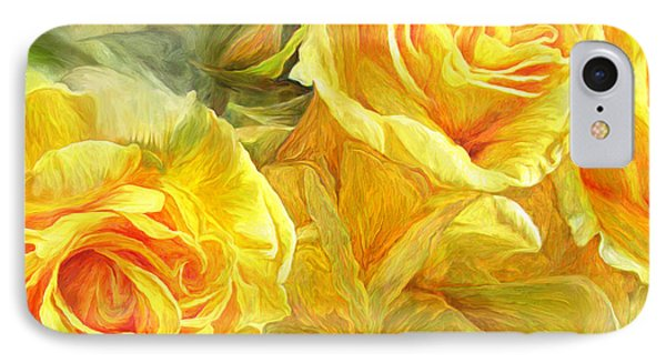Rose Moods - Joy IPhone Case by Carol Cavalaris