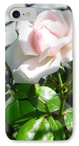 Rose Named Pearl Phone Case by Sonali Gangane