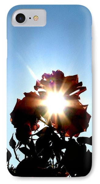 Rose Of The Sun IPhone Case
