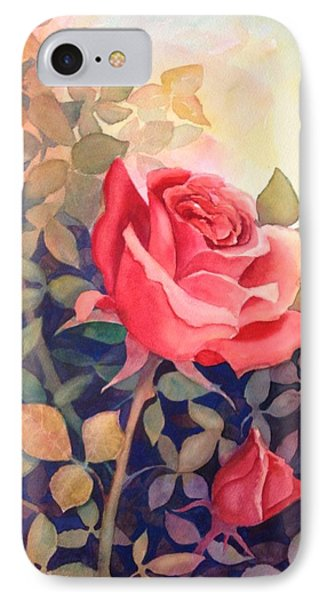 Rose On A Warm Day IPhone Case by Marilyn Jacobson