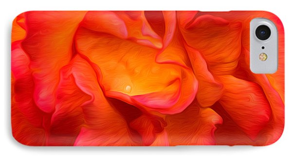 Rose Red Orange Yellow IPhone Case by Clare VanderVeen