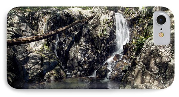 IPhone Case featuring the photograph Rose River Falls 1 by David Lester