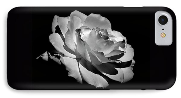Rose IPhone Case by Rona Black