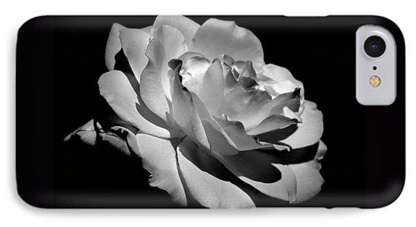 Rose Phone Case by Rona Black