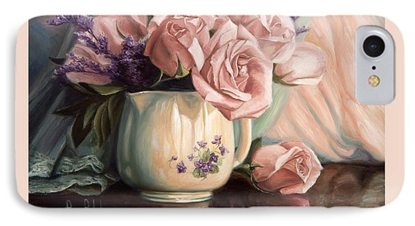 Rose Roses Phone Case by Lucie Bilodeau