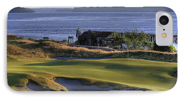 Hole 17 Hdr IPhone Case by Chris Anderson