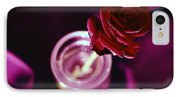 Rose IPhone Case by Stelios Kleanthous