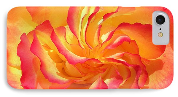 Rose Swirl IPhone Case by Brian Chase