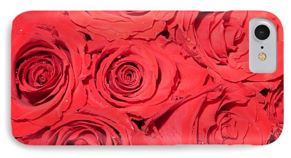 Rose Swirls Phone Case by Sonali Gangane
