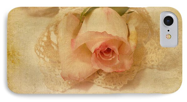 IPhone Case featuring the photograph Rose With Vintage Feel by Sandra Foster