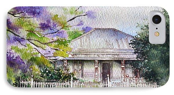 Roseabellas House Bellingen Phone Case by Sandra Phryce-Jones