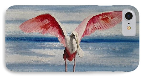 Roseate Spoonbill IIi IPhone Case