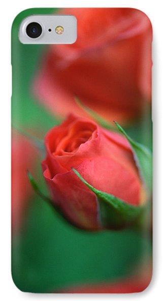 Rosebud  Phone Case by Kathy Yates