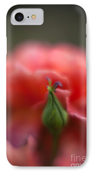 Rosebud Nest IPhone Case by Mike Reid