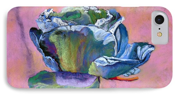 Rosefloria In Blue IPhone Case
