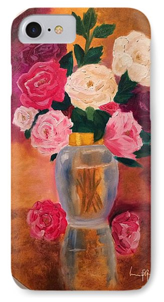 IPhone Case featuring the painting Roses 2 by Brindha Naveen