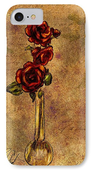 Roses After Cezanne IPhone Case