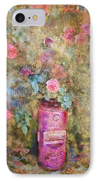 Roses And Fire Hydrant IPhone Case