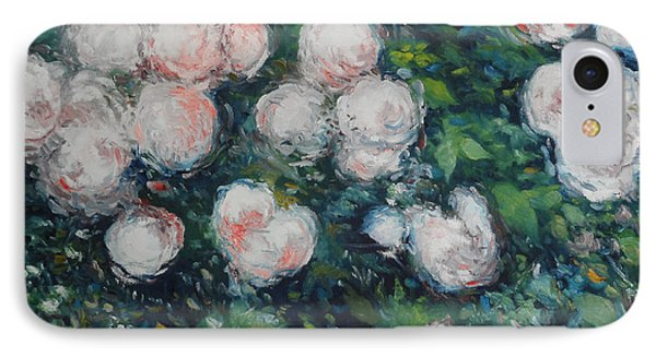 Roses At Diemersfontein Cape Town South Africa Phone Case by Enver Larney