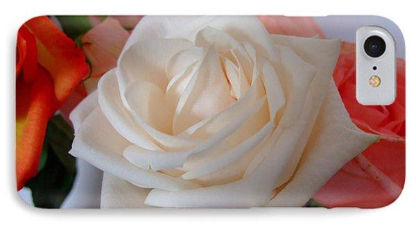 Roses IPhone Case by Deborah DeLaBarre