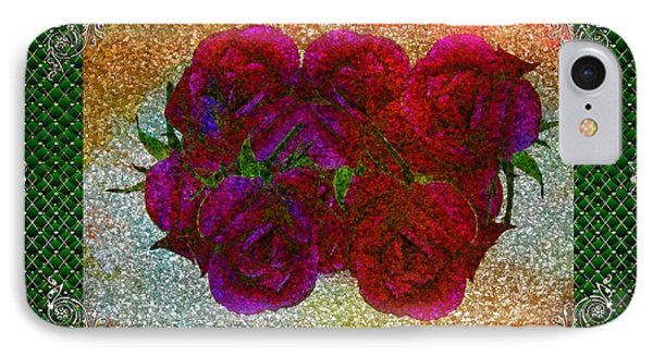 Roses- Featured In Beautiful Roses And Comfortable Art Groups Phone Case by EricaMaxine  Price