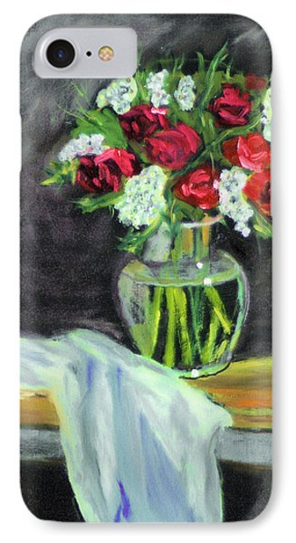 IPhone Case featuring the painting Roses For Mother's Day by Michael Daniels