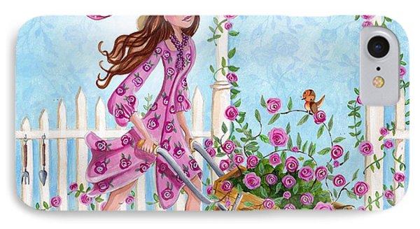 Roses For You IPhone Case by Caroline Bonne-Muller