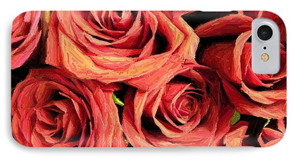 Roses For Your Wall  IPhone Case by Joseph Baril