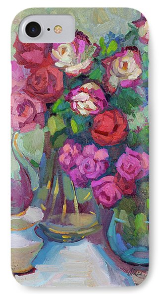 Roses In Two Vases IPhone Case