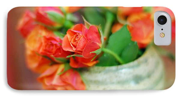IPhone Case featuring the photograph Roses by Lisa Phillips