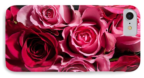 IPhone Case featuring the photograph Roses by Matt Malloy