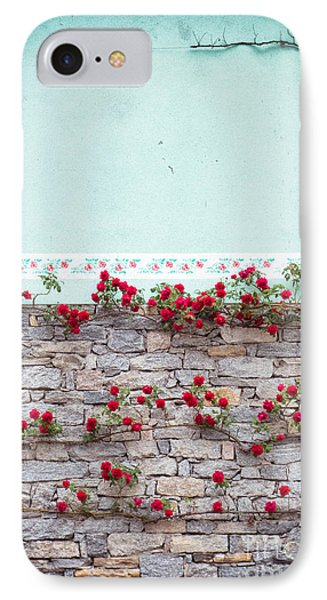 Roses On A Wall IPhone Case