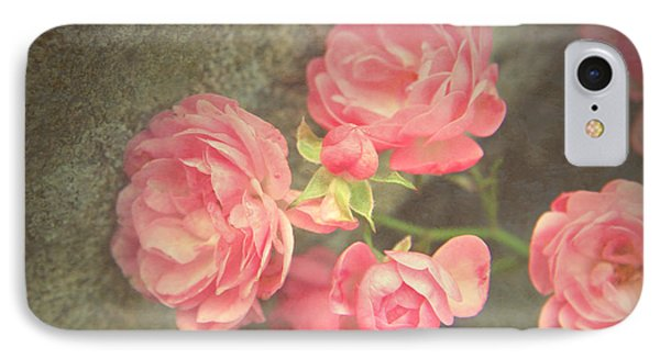 IPhone Case featuring the photograph Roses On Granite by Brooke T Ryan