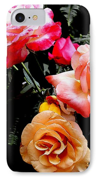 IPhone Case featuring the photograph Roses Roses Roses by James C Thomas